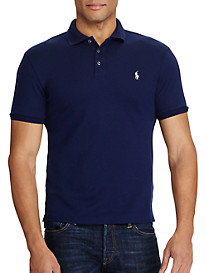 Polo Ralph Lauren Solid Stretch Mesh Polo Shirt