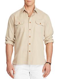 Polo Ralph Lauren® Cotton Twill Utility Shirt