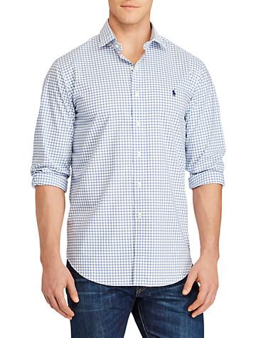 Polo Ralph Lauren® Check Stretch Poplin Sport Shirt