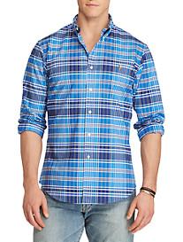 Polo Ralph Lauren® Stretch Oxford Sport Shirt (blue navy)