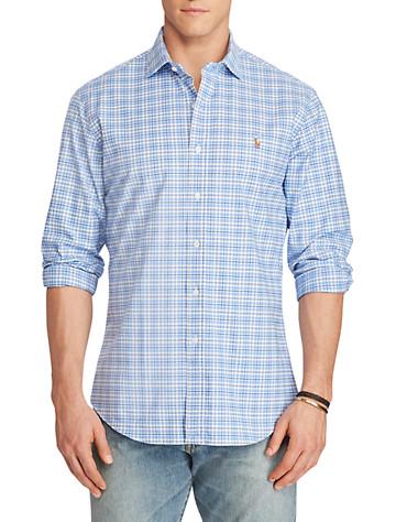 Polo Ralph Lauren® Stretch Oxford Sport Shirt (azure navy)