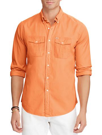 Polo Ralph Lauren® Beach Twill Sport Shirt