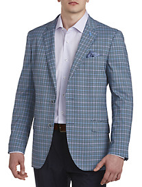 TailorByrd Plaid Sport Coat