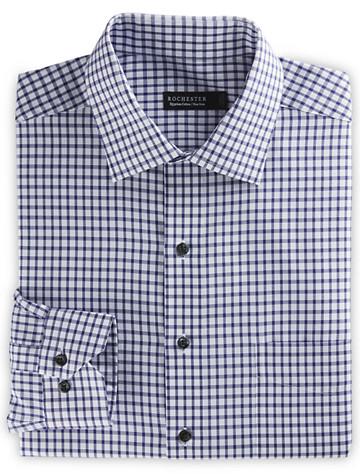 Rochester Grid Dress Shirt - $89.50