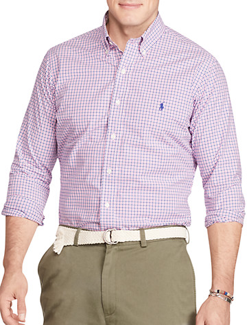 Polo Ralph Lauren® Small Check Poplin Sport Shirt
