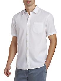 Tommy Bahama® Solid Seersucker Sport Shirt