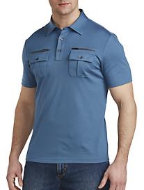 Michael Kors® Zippered-Pocket Polo