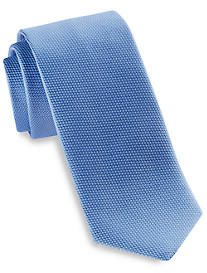 Eton Textured Solid Silk Tie