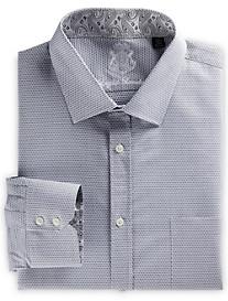 English Laundry™ Geometric-Print Dress Shirt