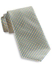 Rochester Medium Contrast Grid Silk Tie