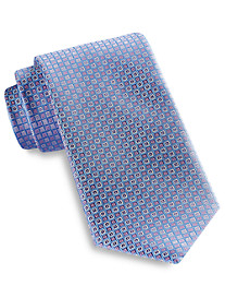 Rochester Small Diamond Neat Silk Tie