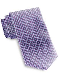 Rochester Repeating Square Neat Silk Tie