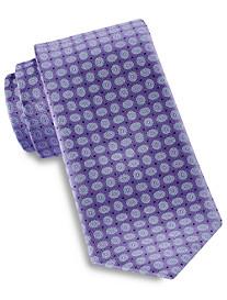 Rochester Small Floral Medallion Silk Tie