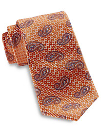 Rochester Medium Textured Paisley Silk Tie