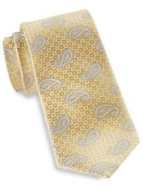 Rochester Medium Textured Paisley Silk Tie