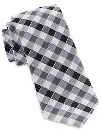 Michael Kors® Shadow Gingham Silk Tie