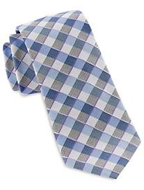 Michael Kors® Shadow Gingham Silk Tie