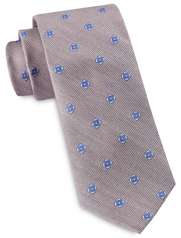 Michael Kors® Midi Neat Medallion Silk Tie