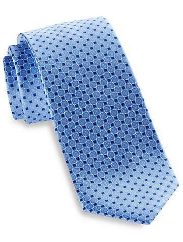 Michael Kors® Interconnected Cubes 2 Silk Tie