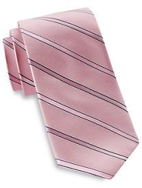 Michael Kors Lina Stripe Silk Tie