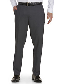 Kenneth Cole Reaction Tailored Fit Flat-Front Suit Pants