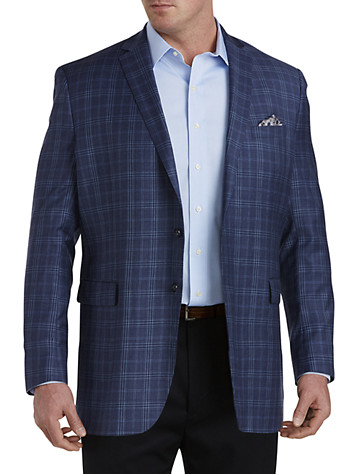 Daniel Hechter® Plaid Sport Coat (navy)
