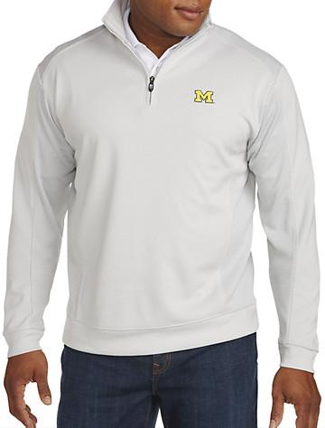 Cutter & Buck® University of Michigan Quarter-Zip Pullover | Collegiate