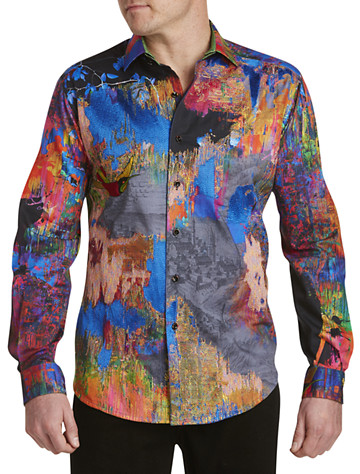 Robert Graham® Limited Edition Zucker Multi Print Sport Shirt