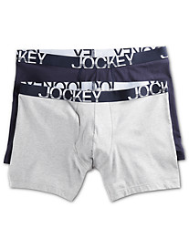 Jockey® 2-pk ActiveStretch™ Boxer Briefs