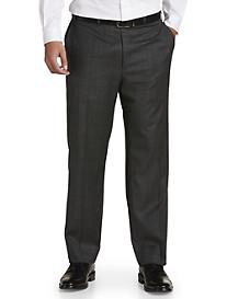 Michael Kors® Glen Plaid Flat-Front Suit Pants