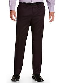 Michael Kors® Tonal Flat-Front Suit Pants