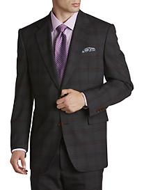 Tallia Orange Plaid Suit Jacket