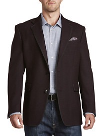 Tallia Orange Textured Grosgrain-Trim Sport Coat