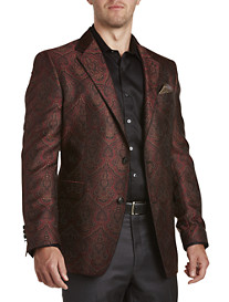 Tallia Orange Artisanal Fancy Sport Coat