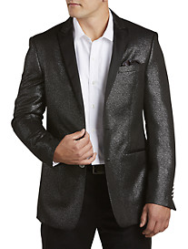 Tallia Orange Sparkling Silver Dinner Jacket