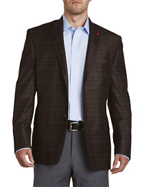 TailoRED Plaid Deco Sport Coat