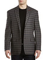 TAILORED GRY BLK PLAID SC