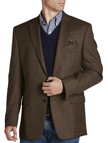 Ralph by Ralph Lauren Comfort Flex Houndstooth Sport Coat (brown)