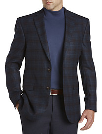 Jack Victor Plaid Wool Sport Coat