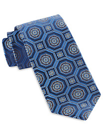 Robert Talbott Large Geo Medallion Silk Tie