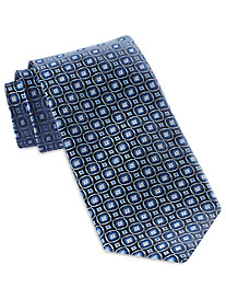 Robert Talbott Best of Class Small Circle Medallion Silk Tie