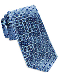 Robert Talbott Best of Class Small Circle Medallion Silk Tie