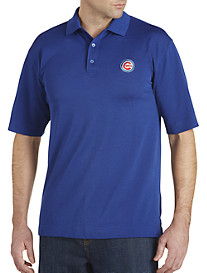 Cutter & Buck® Chicago Cubs Performance Piqué Polo