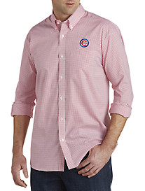 Cutter & Buck® Chicago Cubs Mini Check Sport Shirt