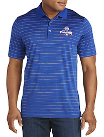 Cutter & Buck™ Chicago Cubs 2016 Championship Stripe Polo