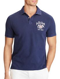 Polo Ralph Lauren® Flag Back Mesh Polo