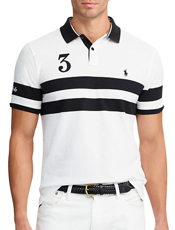 Polo Ralph Lauren® Featherweight Stripe Mesh Polo