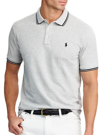 Polo Ralph Lauren® Tipped Cotton Mesh Polo | Polos