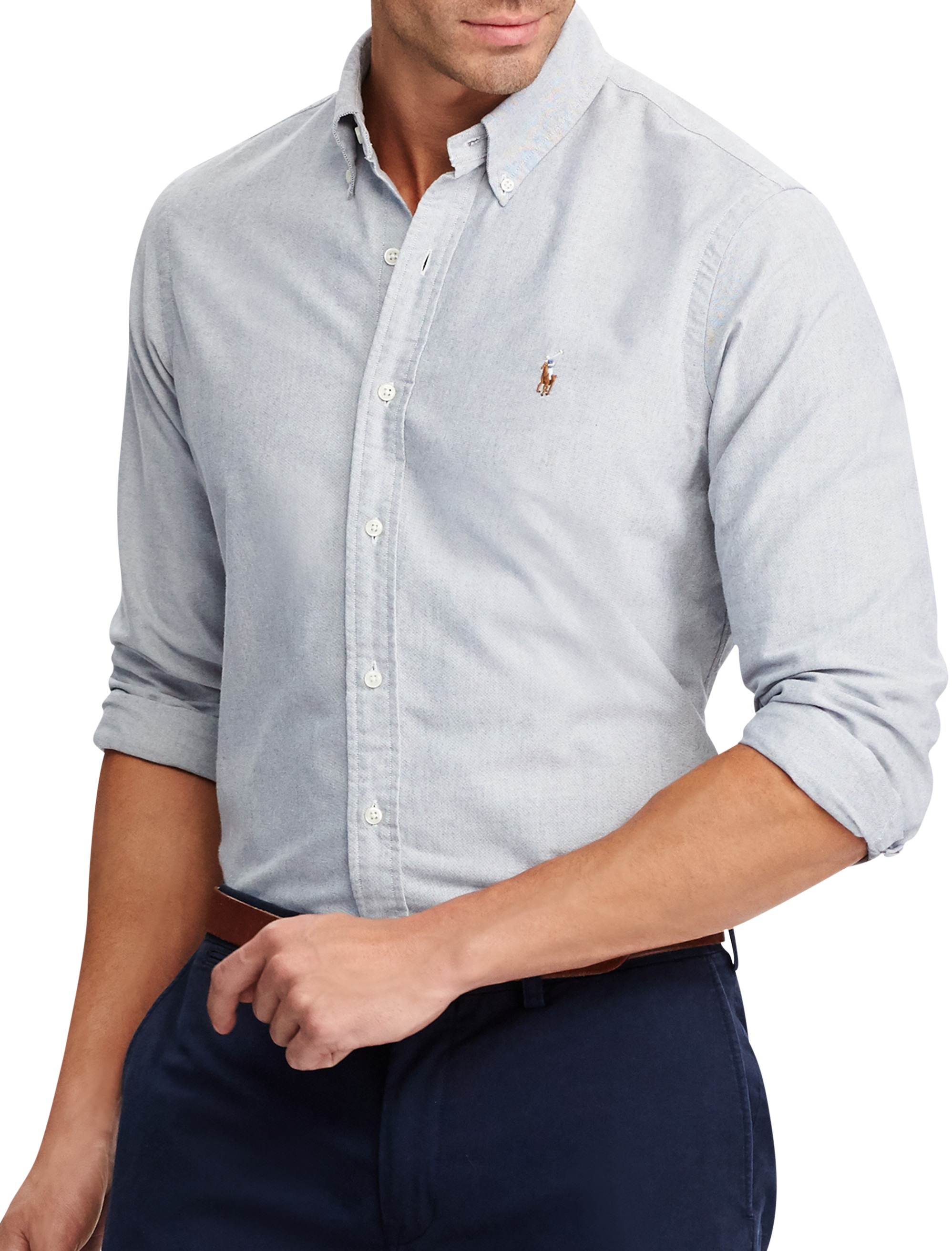 Polo Ralph Lauren Textured Oxford Sport Shirt | Tuggl