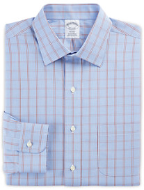 Brooks Brothers® Non-Iron Large Houndstooth Broadcloth Dress Shirt